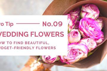 Choosing beautiful, budget-friendly wedding flowers - weddingfor1000.com