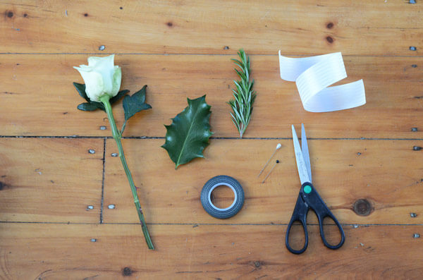 DIY Your Groom's Boutonniere
