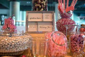 DIY Candy Buffet - Wedding Favors On A Budget