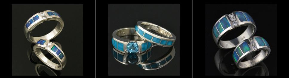 Hileman Unique Wedding Rings