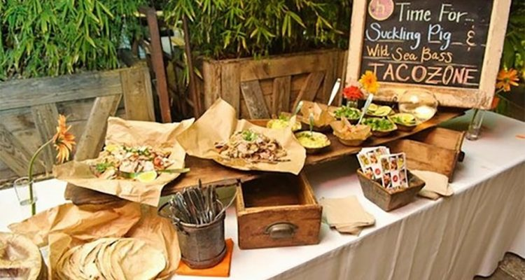 Have Some Fiesta Fun With A Taco Wedding Bar