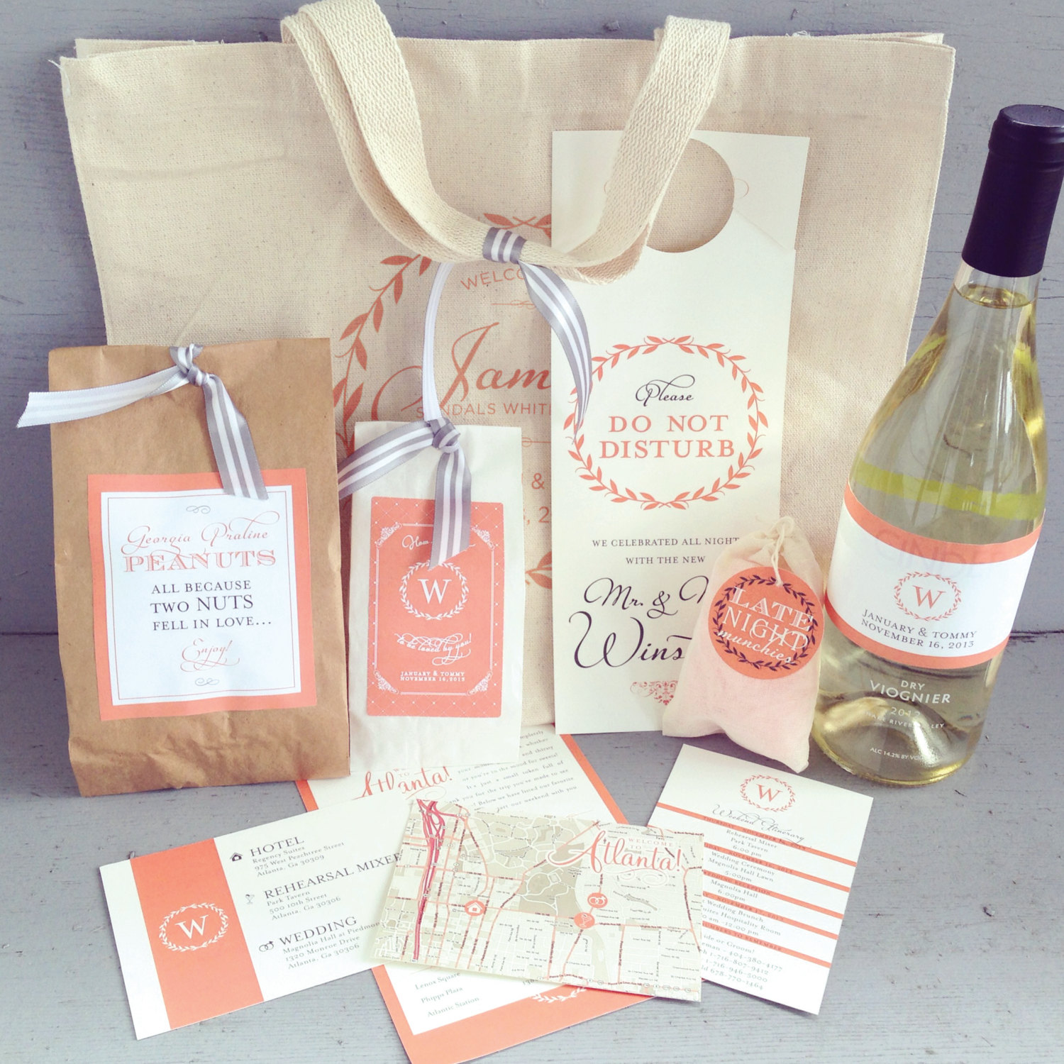 Wedding Welcome Bags