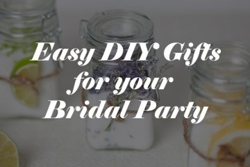 Budget Bridal Party Gifts