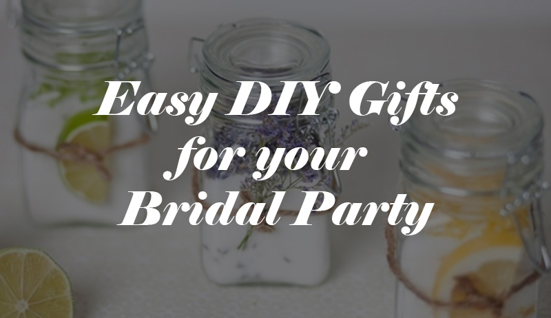 Wedding Gift Ideas USD1000 : Budget Bridal Party GiftsTwo DIY ProjectsWedding for USD1000