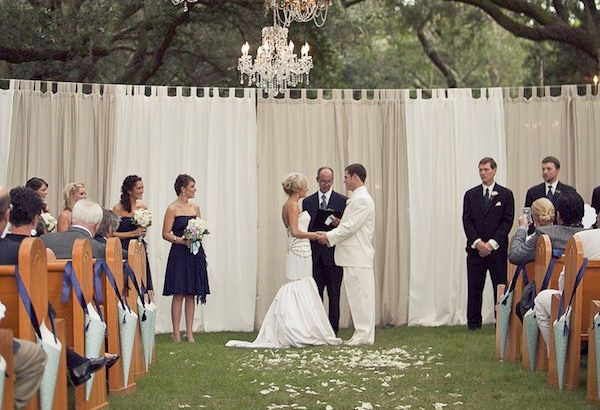37 gorgeous ideas for ceremony backdrops junglespirit Image collections