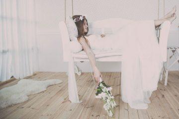 Vintage wedding dress style