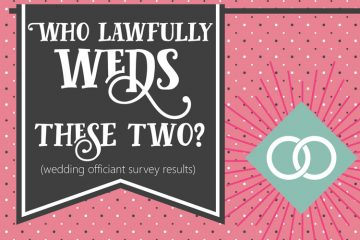 wedding officiant survey results