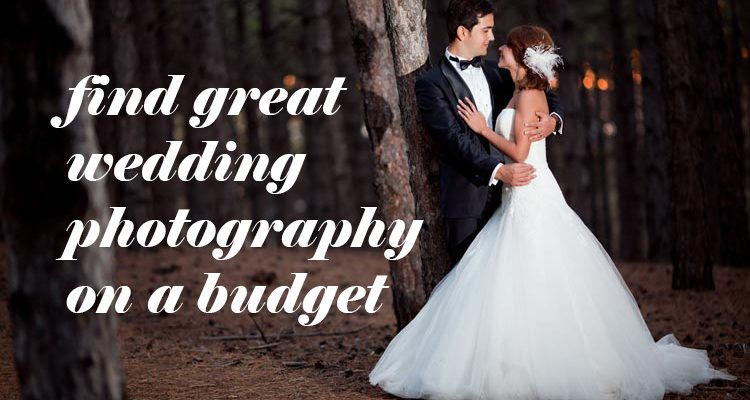 Five ways to find great budget wedding photography - weddingfor1000.com