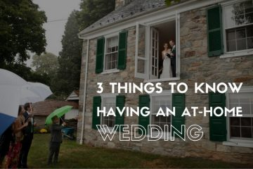 3 Things To Know When Having an At-Home Wedding - weddingfor1000.com