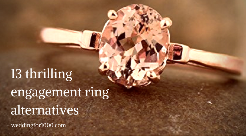 13 thrilling engagement ring alternatives to traditional diamonds - weddingfor1000.com