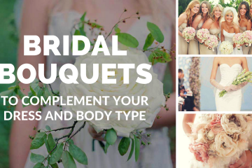 Bridal Bouquets - What Shape For Which Body Type? - weddingfor1000.com