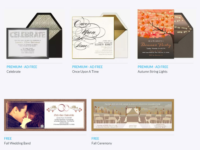 Online Wedding Invitation Round-Up - weddingfor1000.com