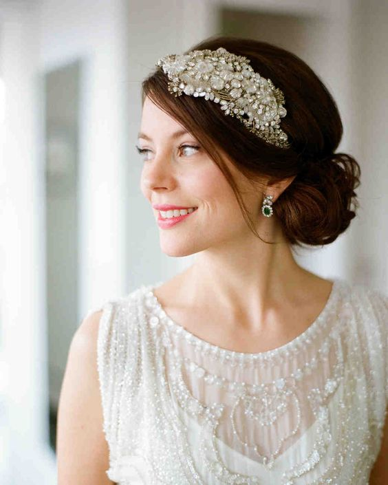 Low Bun Hairstyles For Weddings: Simple Wedding Hairstyles That Are Easy To Master